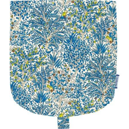 Rabat petite besace forêt bleue