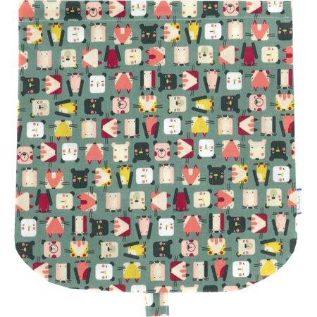 Tapa de bolso cruzado animales cubo