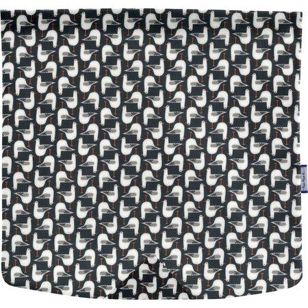 Tapa de bolso cruzado cuadrado gaviotas de cabeza negra