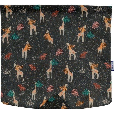 Square flap of saddle bag  palma girafe