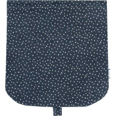 Flap of saddle bag etoile argent jean