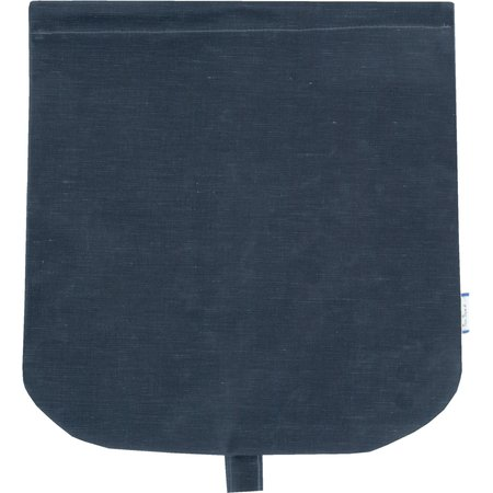 Flap of saddle bag light denim