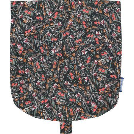 Flap of small shoulder bag grasses