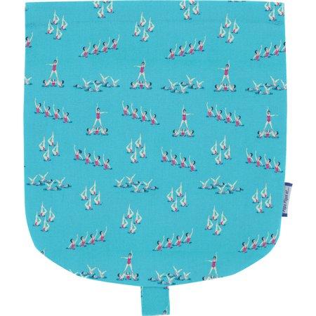 Tapa de mini bolso cruzado nadadoras