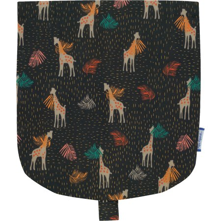 Flap of small shoulder bag palma girafe