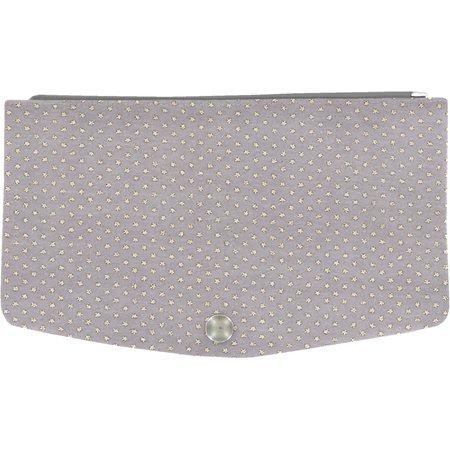 Rabat-Compagnon portefeuille etoile or gris