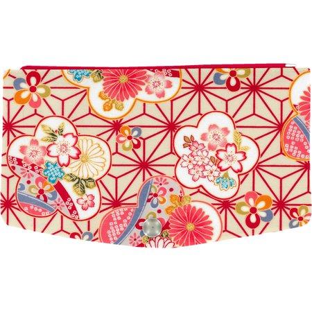 Rabat-Compagnon portefeuille  origamis fleuris