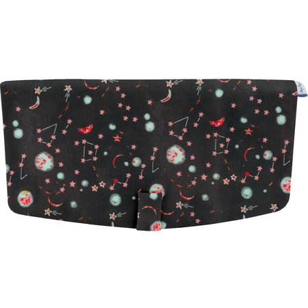Flap of shoulder bag constellations