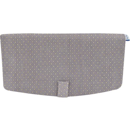 Flap of shoulder bag etoile or gris
