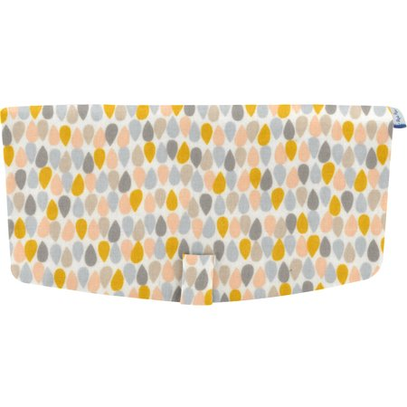Flap of shoulder bag pastel drops