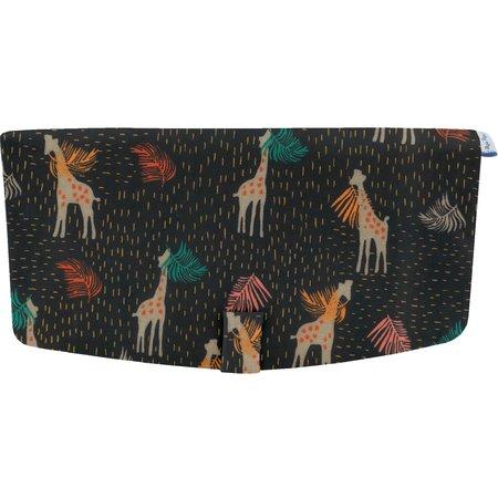 Flap of shoulder bag palma girafe