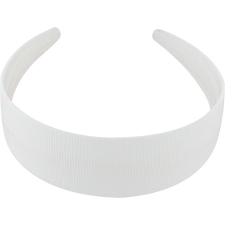 Wide headband white