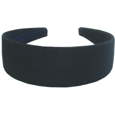 Wide headband navy blue