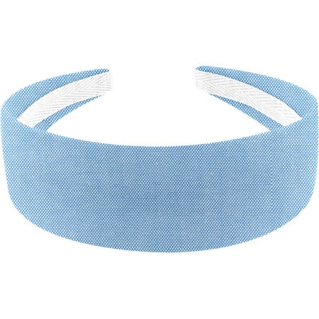 Wide headband oxford blue