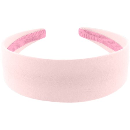 Diadema larga rosa oxford