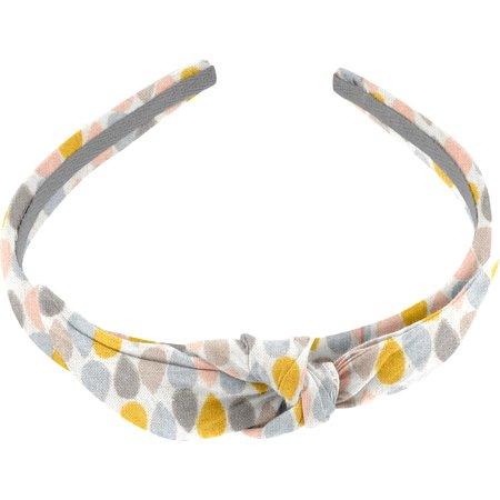 bow headband pastel drops