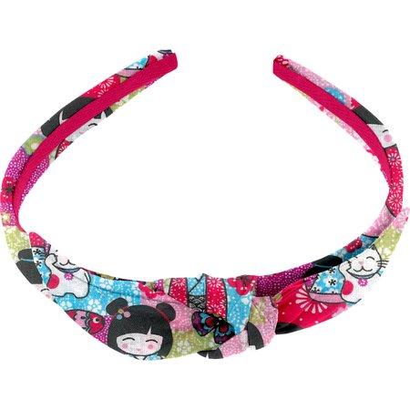 bow headband kokeshis