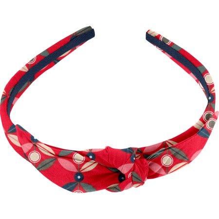 bow headband paprika petal