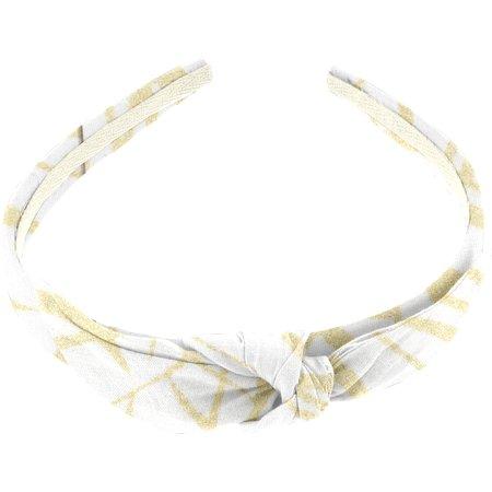 bow headband ramage gold