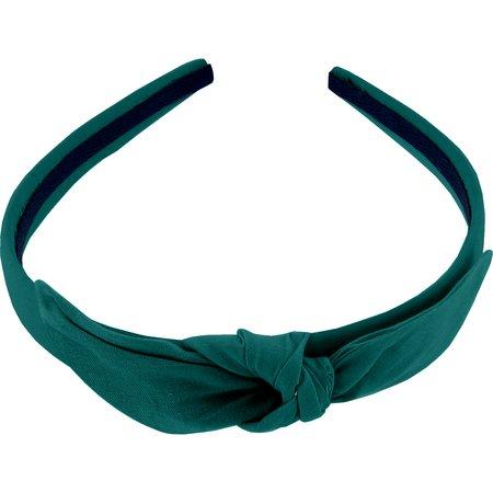 Serre-tête noeud  vert émeraude