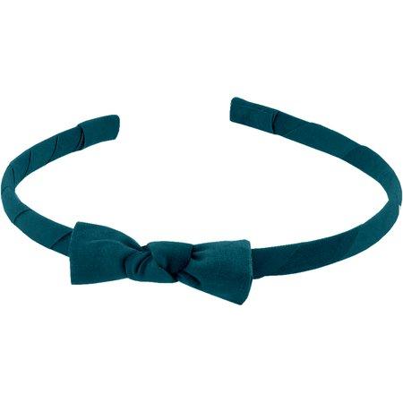 Serre-tête fin bleu vert