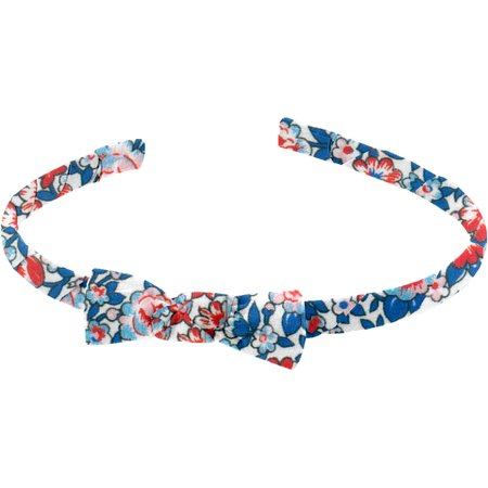Thin headband flowered london