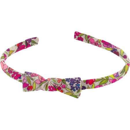 Thin headband purple meadow