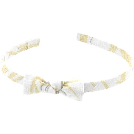 Thin headband ramage gold