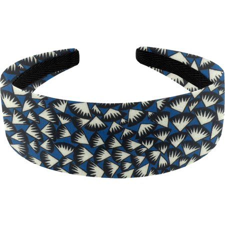 Serre-tête large  eclats bleu nuit