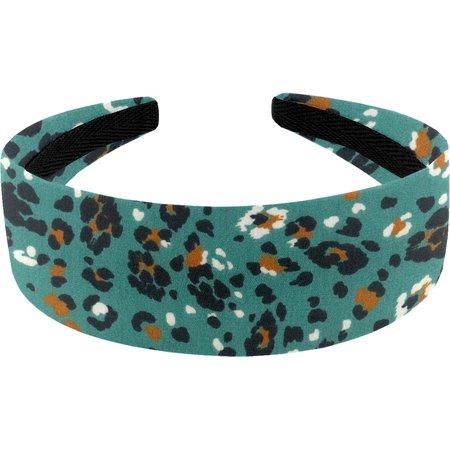 Wide headband jade panther