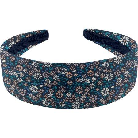 Wide headband paquerette marine