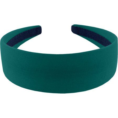 Serre-tête large  vert émeraude