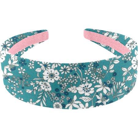 Wide headband celadon violette