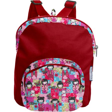 Children rucksack kokeshis