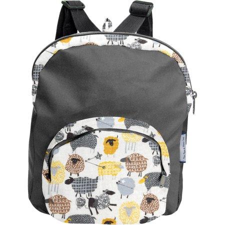 Petit sac à dos  mouton jaune