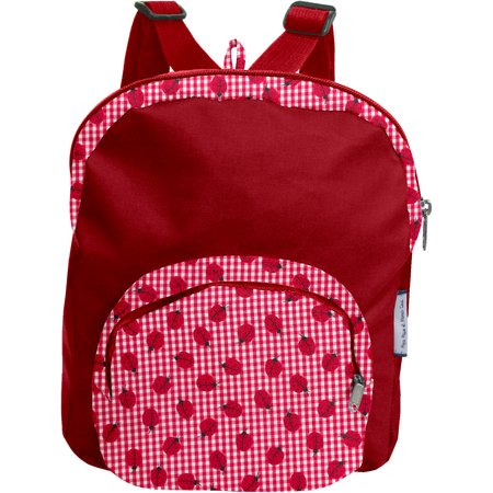 Children rucksack ladybird gingham