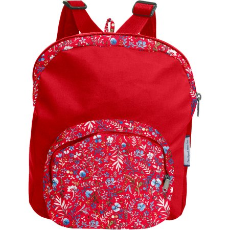 Children rucksack cherry cornflower