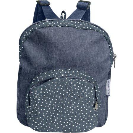 Children rucksack etoile argent jean