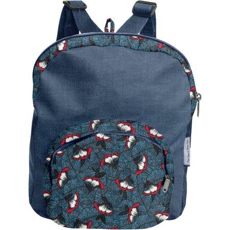 Petit sac à dos   nuit fleurie