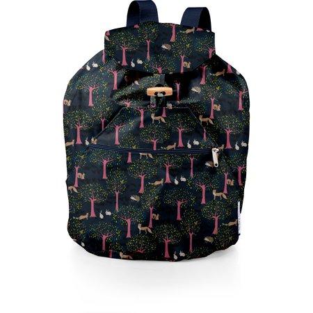 Petit sac à dos plastifié conte d'automne