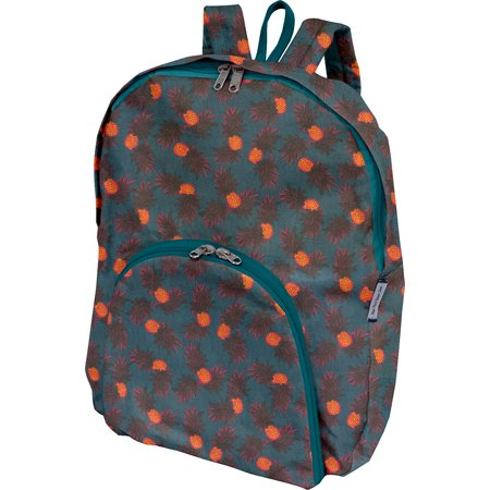 Foldable rucksack  pineapple party
