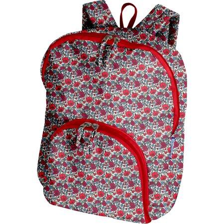 Foldable rucksack  poppy