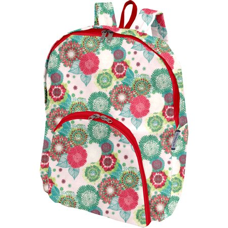 Foldable rucksack  powdered  dahlia