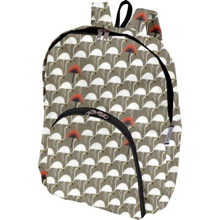 Foldable rucksack  flamingo