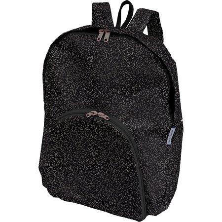 Foldable rucksack  noir pailleté