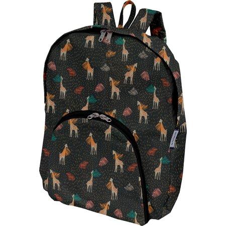 Foldable rucksack  palma girafe