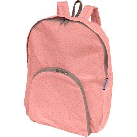 Foldable rucksack  triangle or poudré