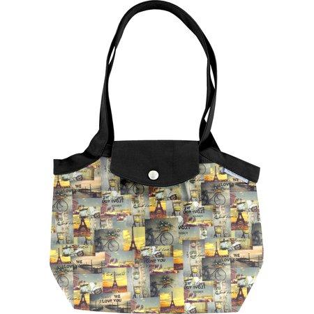 Petit sac cabas plissé  vintage