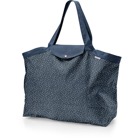 Tote bag with a zip etoile argent jean