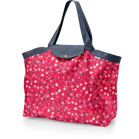 Tote bag with a zip hanami